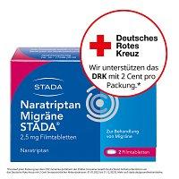 naratriptan migr ne stada 2 5 mg filmtabletten 2 st. Black Bedroom Furniture Sets. Home Design Ideas