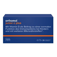 ORTHOMOL Junior C plus Kautabl.Waldfrucht - 30St - F�r Kinder