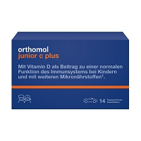 ORTHOMOL Junior C plus Kautabletten - Für Kinder