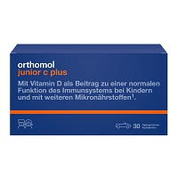 ORTHOMOL Junior C plus Kautabl.Mandarine/Orange - 30St - Mikronährstoffe