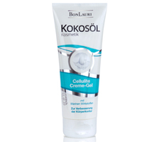 BONLAURI Kokosöl Cellulite Creme-Gel m.Marinen - 200ml - Kokosöl Cellulite Creme-Gel