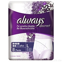 ALWAYS discreet professional Pants plus large - 12St - Höschen Pants Plus