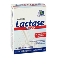 LACTASE 7.000 FCC Tabletten im Spender - 80St - Vegan