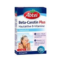 abtei beta carotin plus hautaktive b vitamine kps 50 st medikamente per. Black Bedroom Furniture Sets. Home Design Ideas