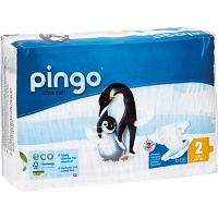 BIO WINDELN mini 3-6 kg Pinguin PINGO SWISS - Windeln