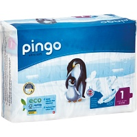 BIO WINDELN newborn 2-5 kg Pinguin PINGO SWISS - 27St - Windeln