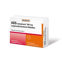 ASS-ratiopharm 100 mg magensaftres.Tabletten - 100St
