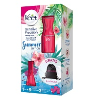 VEET Sensitive Precision Rasierer VP pink - 1St