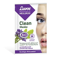 luvos heilerde clean maske naturkosmetik 2x7 5 ml medikamente per. Black Bedroom Furniture Sets. Home Design Ideas